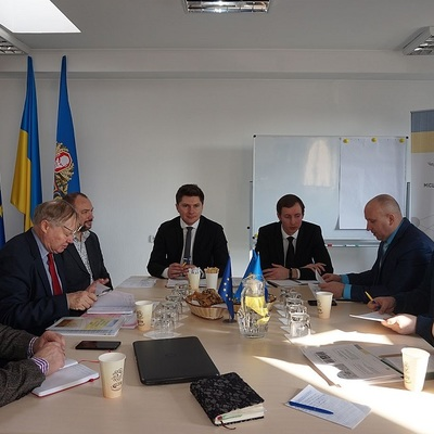 European expert visited Cherkasy to learn about successful regional development projects