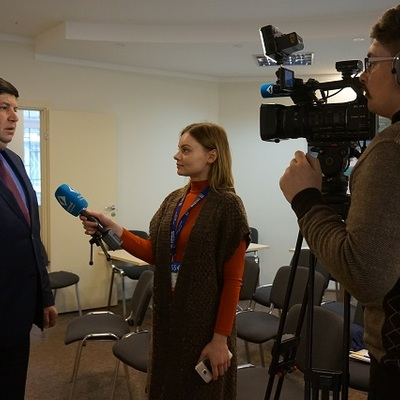 Odesa journalists discussed healthcare reform