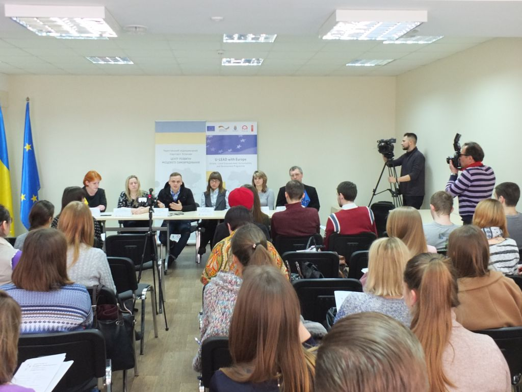 "Students and hromadas' representatives of Chernihiv Oblast got acquainted at ""Vacancies Fair of AHs"""