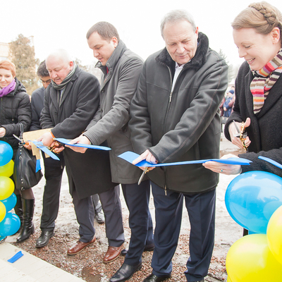 Energy efficient ASC, built from scratch, opened in Mykolayivska AH