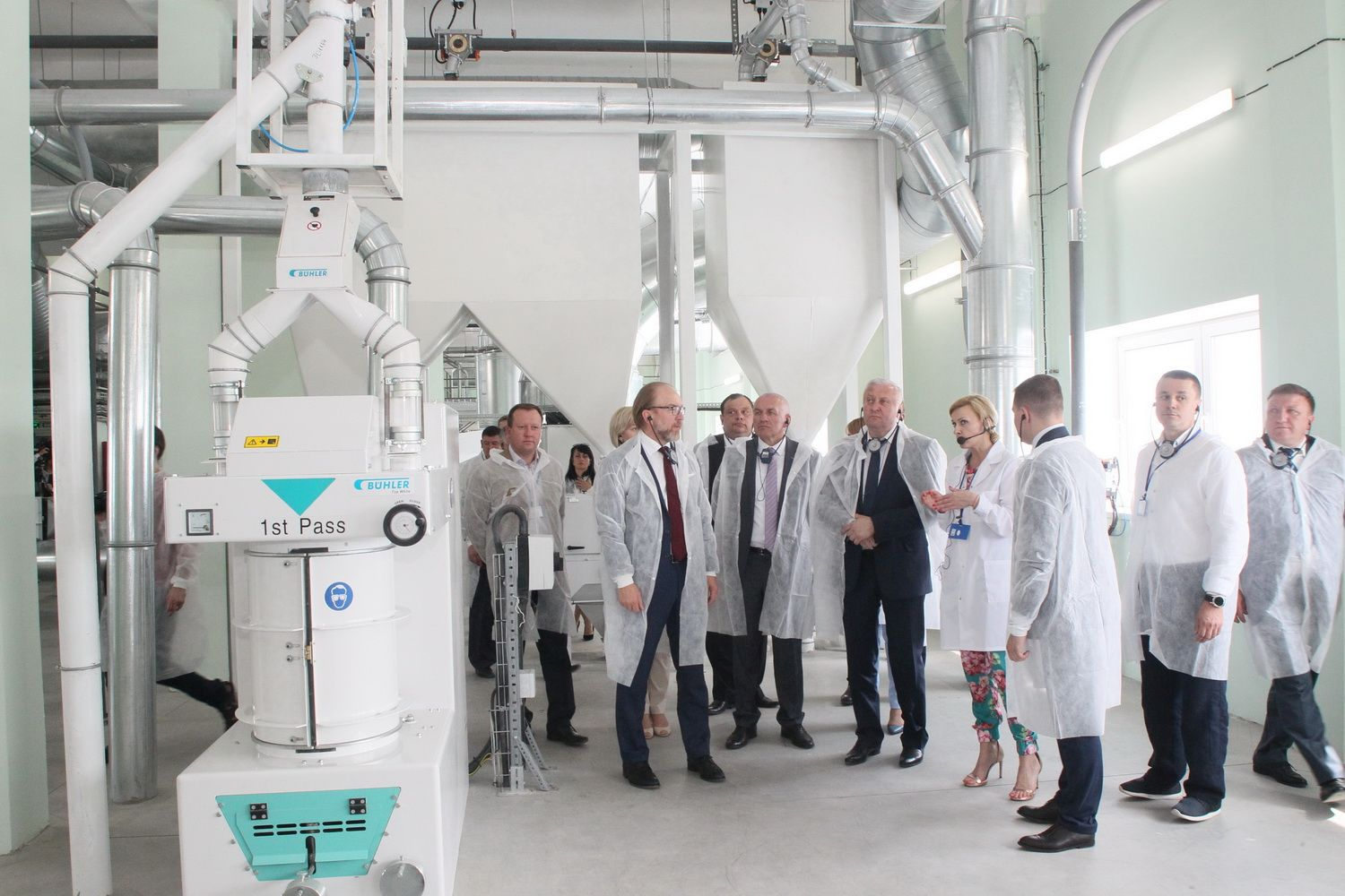 Cereal flakes manufacturing plant launched by investor in Mykhailo-Kotsiubynska AH