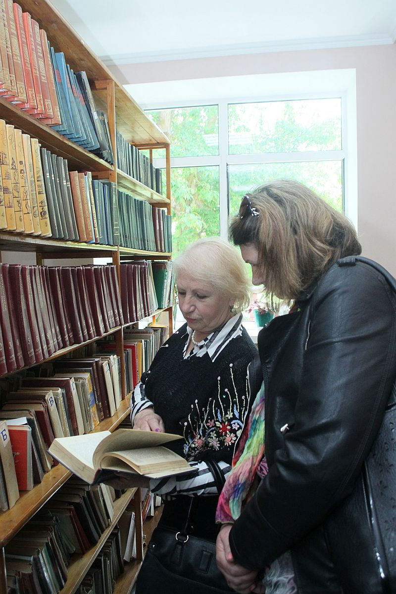 Libraries in amalgamated hromadas of Chernihiv Oblast turn into cultural spaces