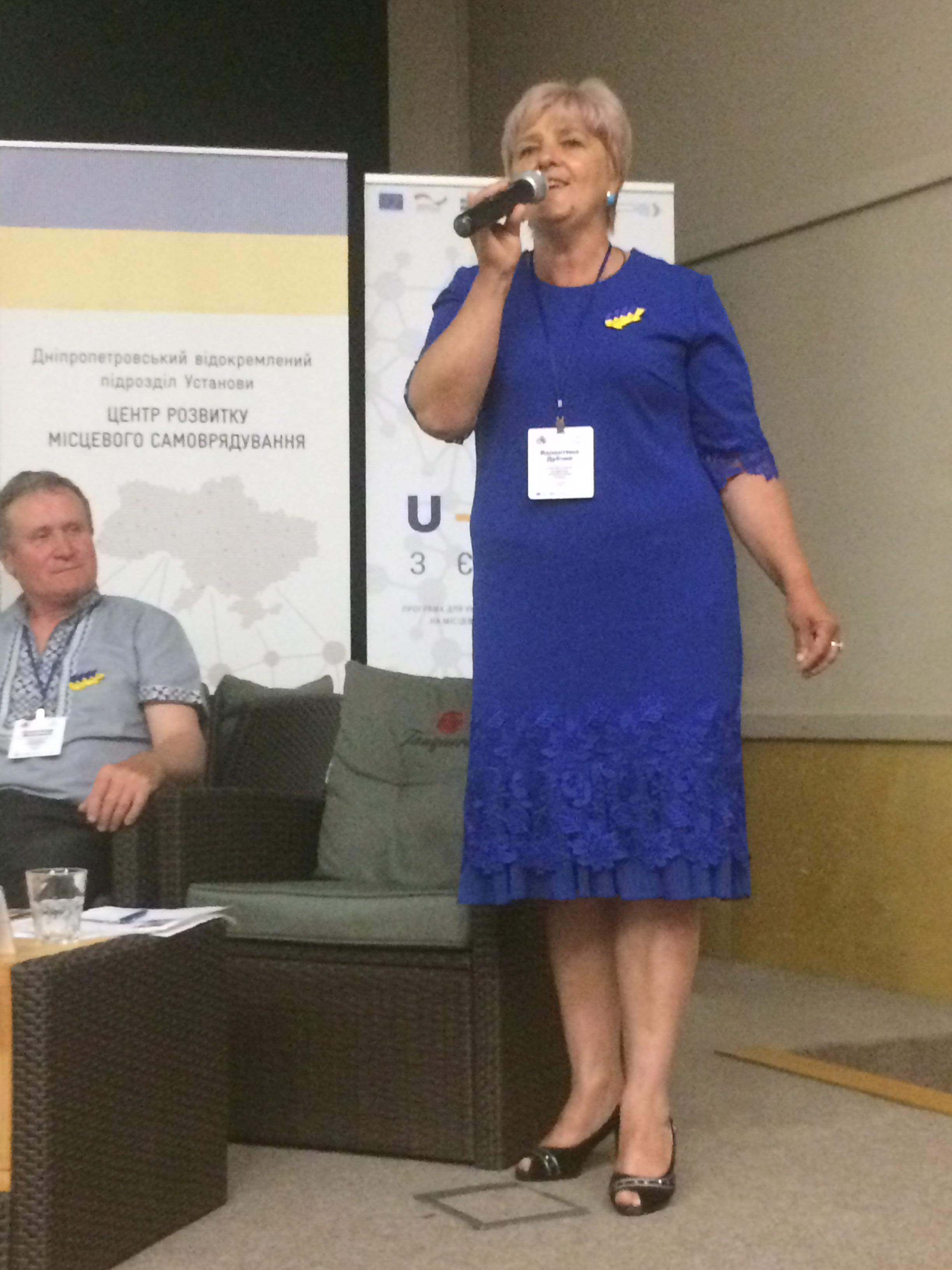 Starostas from Vinnytsia Oblast share experience with colleagues at Congress in Dnipro