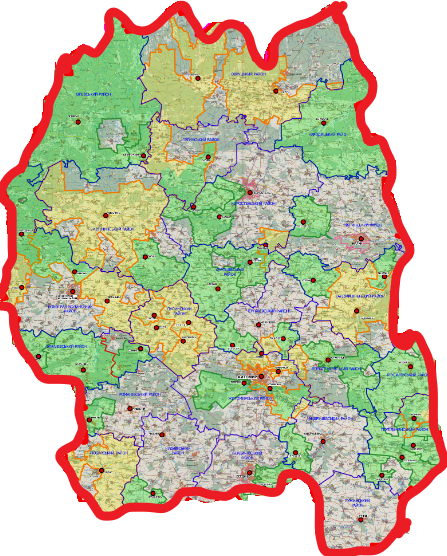 From now on Perspective Plan of Zhytomyr Oblast covers 100% of territory