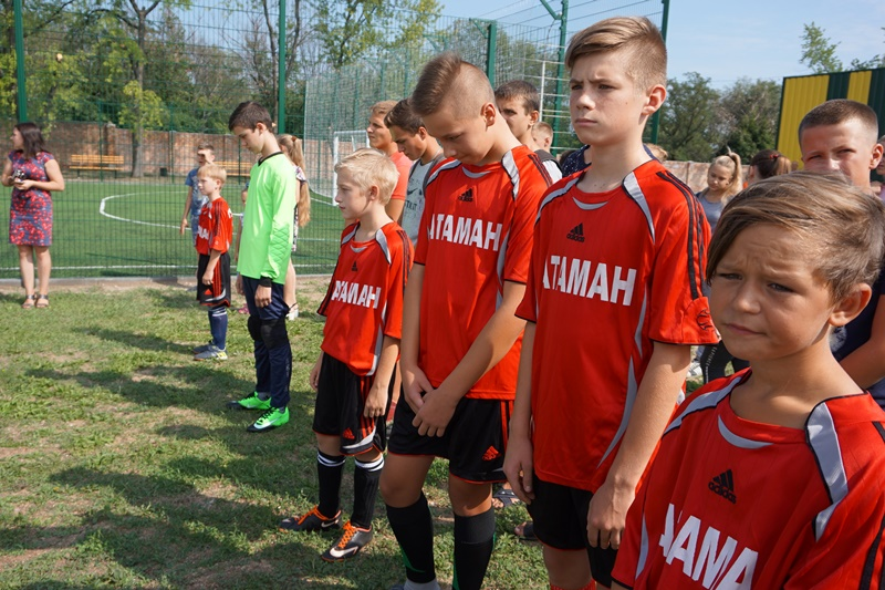 Modern football field opened in Guliaypilska AH