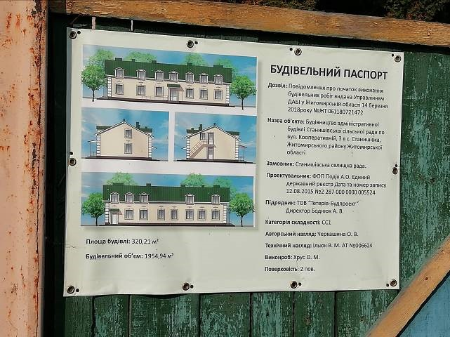 Stanyshivska AH is implementing 16 infrastructure projects this year
