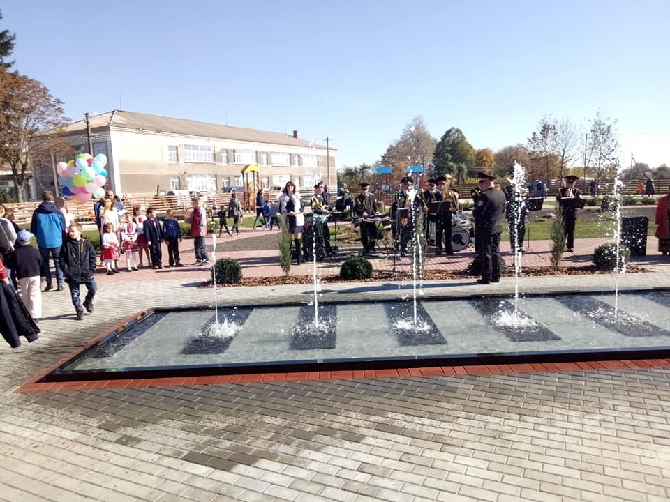 Park area of Hlukhovetska AH is result of cooperation between hromada and business