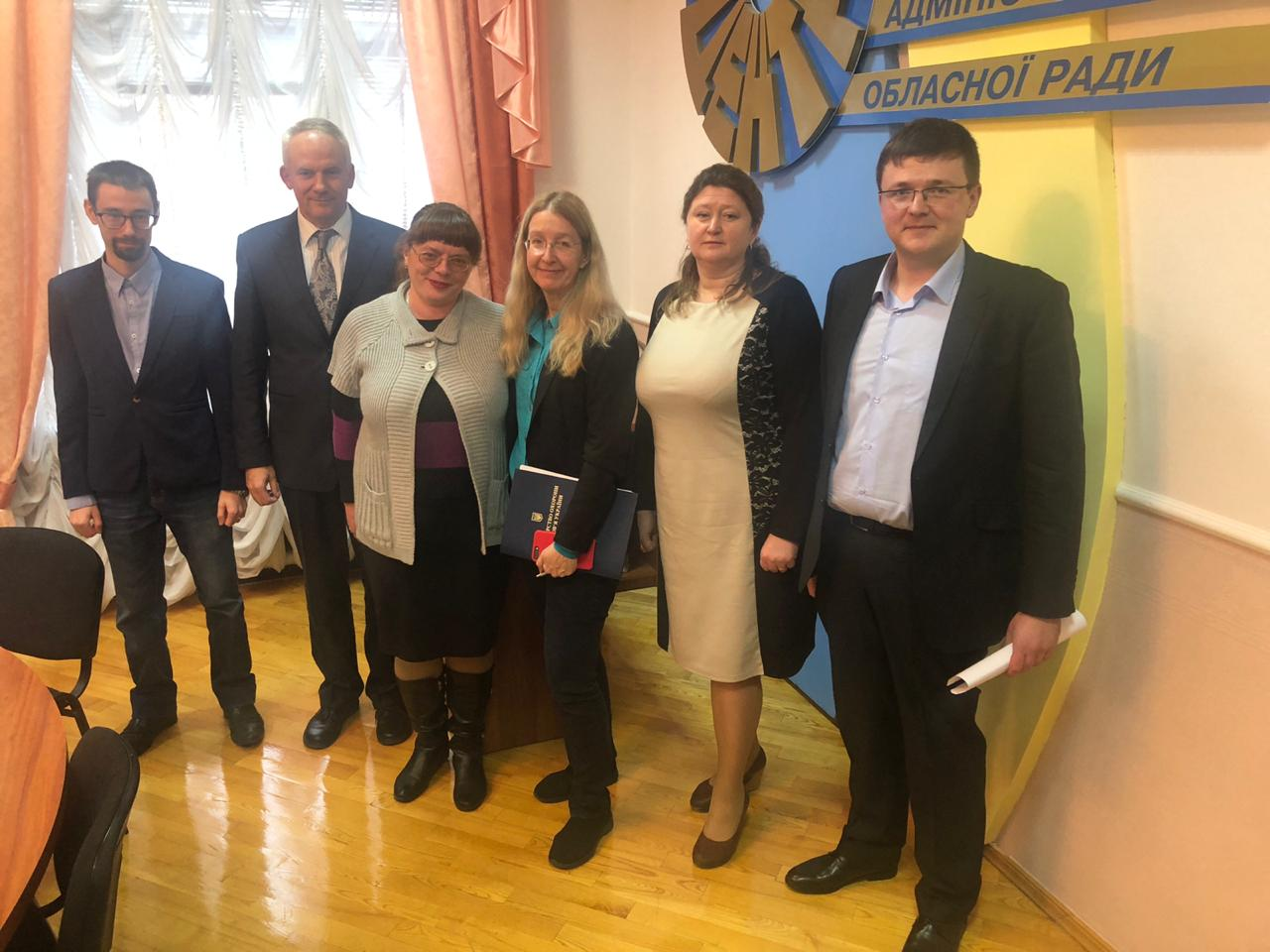 Ulyana Suprun met with hromada leaders from Zhytomyr Oblast