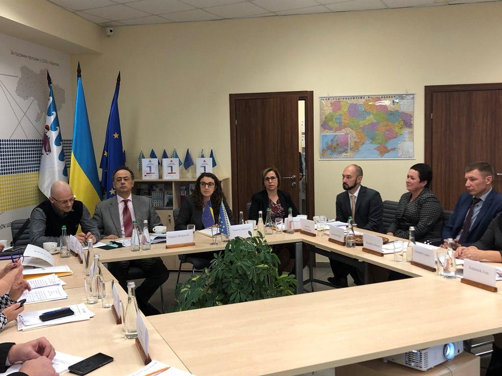 EU Ambassador Mingarelli met with heads of amalgamated hromadas of Dnipropetrovsk Oblast