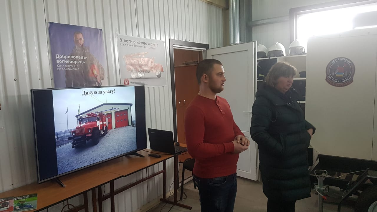 Donetsk Oblast shared experience of opening Safety Centres in hromadas