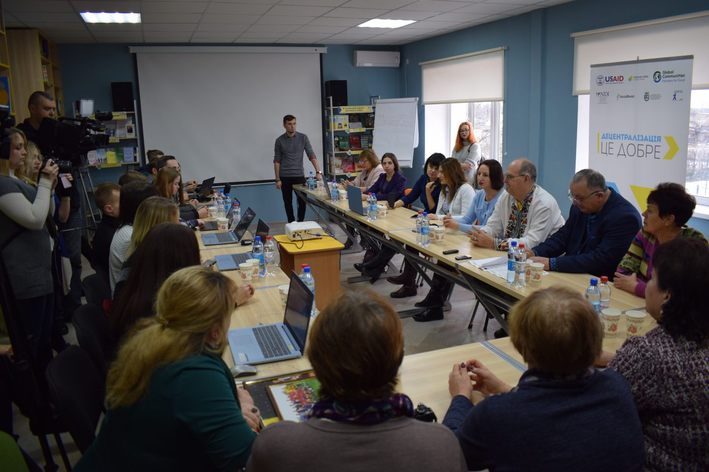 Cinema Club and Youth Resource Centre opened in Halytsynivska AH