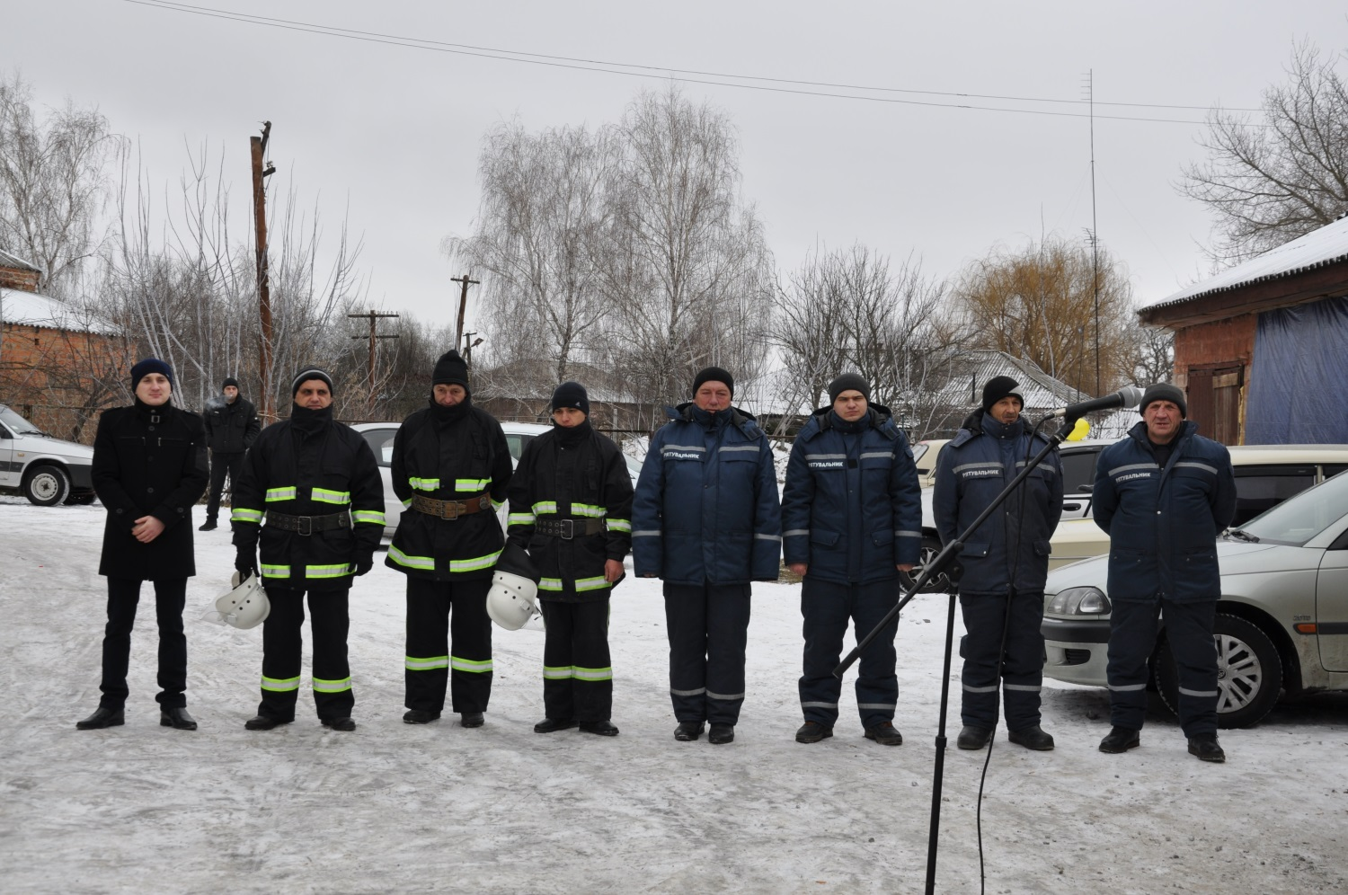 Malopereshchepynska hromada has its own firefighters