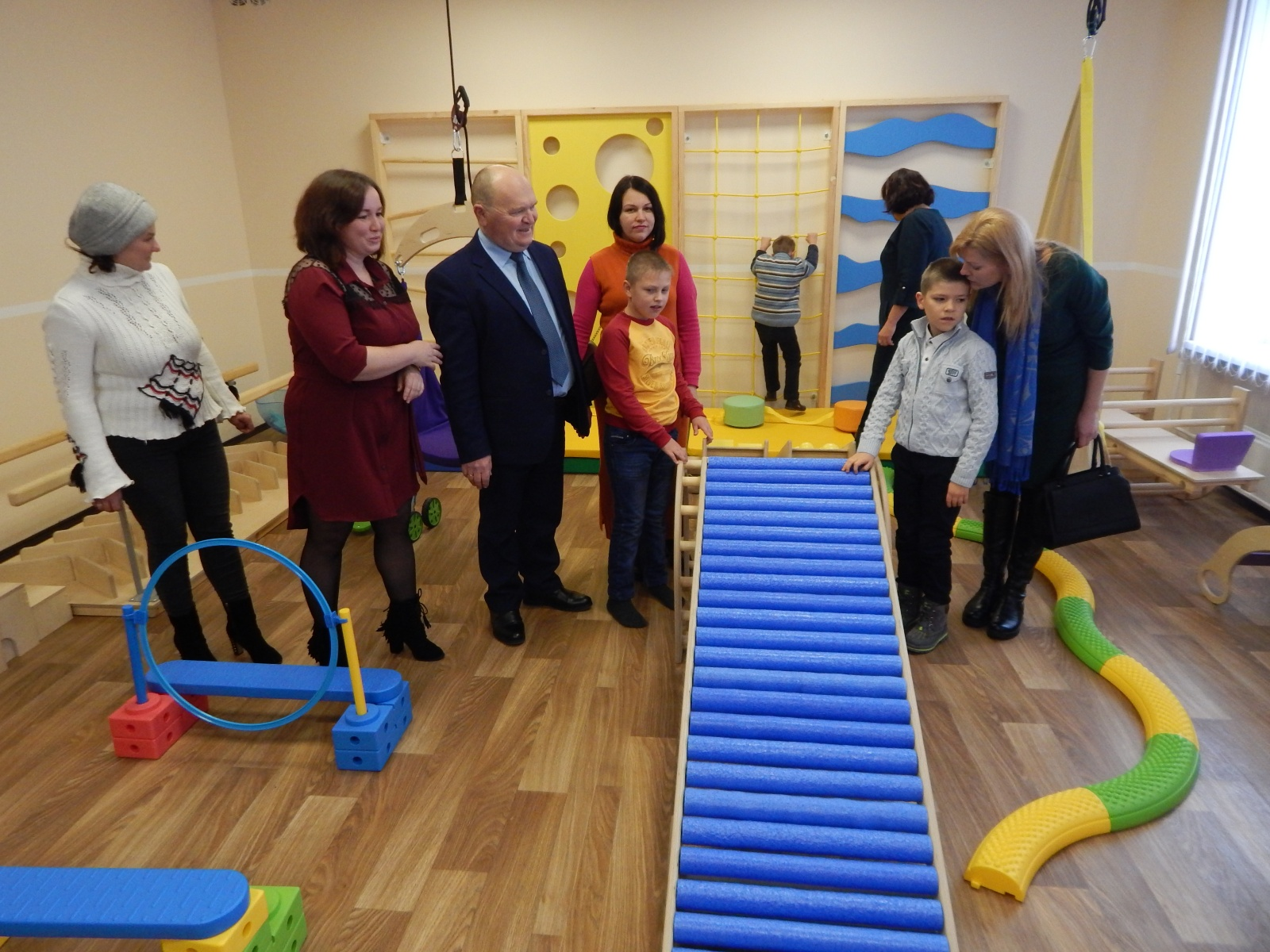 Inclusive and resource centre opened in Dyvychkivska AH
