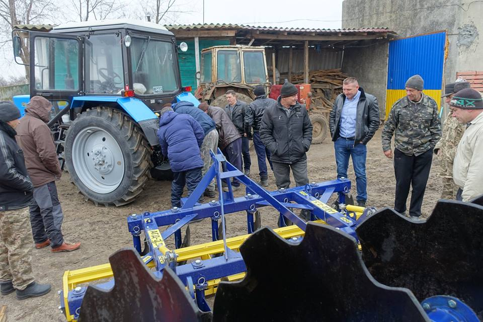 Entering new year with new machinery: Odesa Oblast's AHs use infrastructure subvention