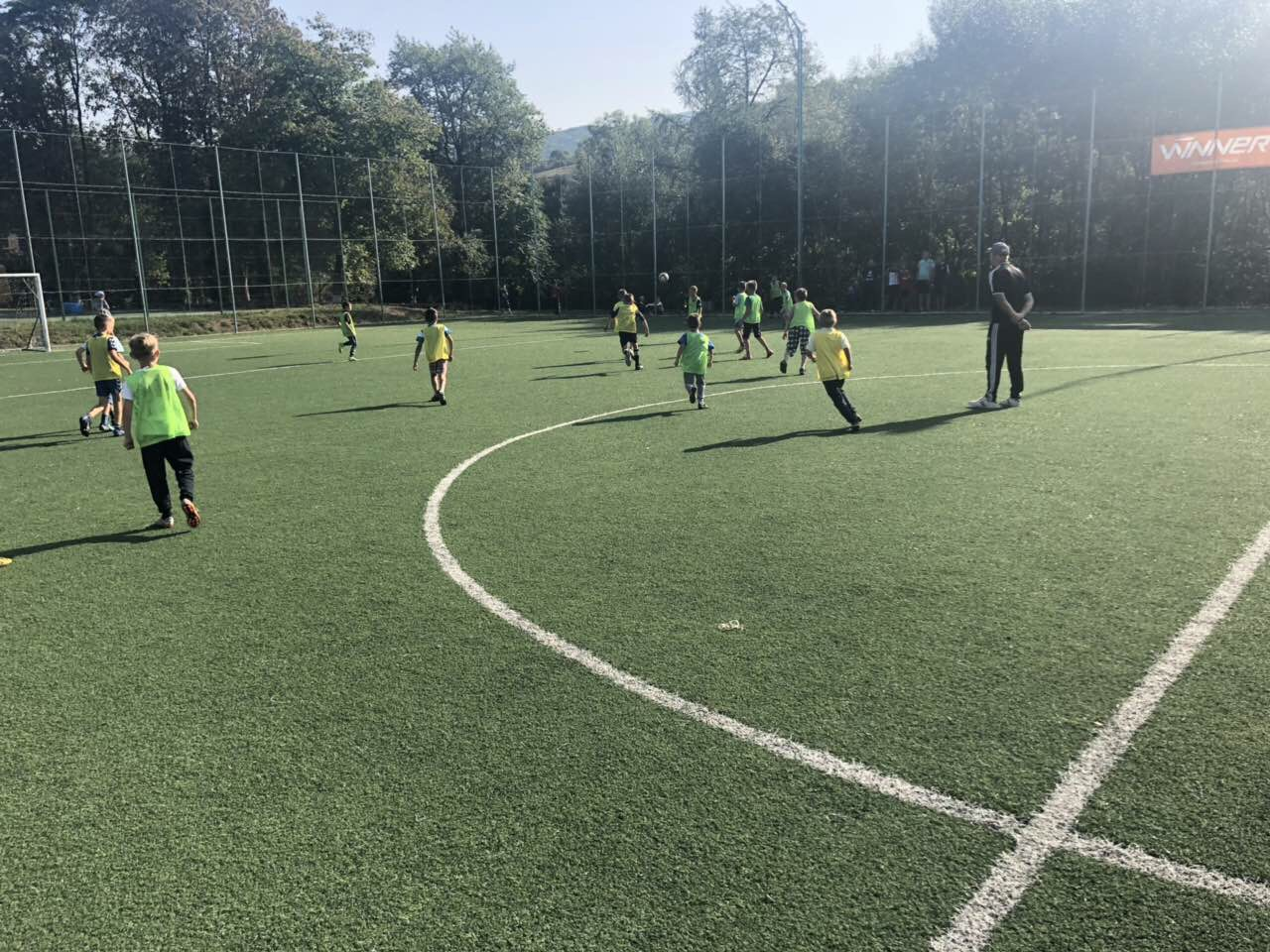 """We want to bring up healthy generation"" - sports school opened in Polianska AH"