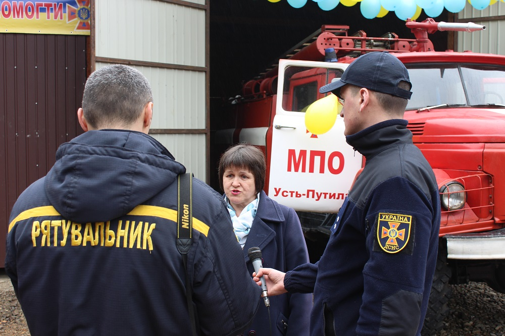Fire station opened in Ust-Putylska AH