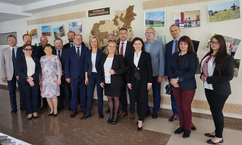 Inter-municipal cooperation – Chernihiv studies Polish experience